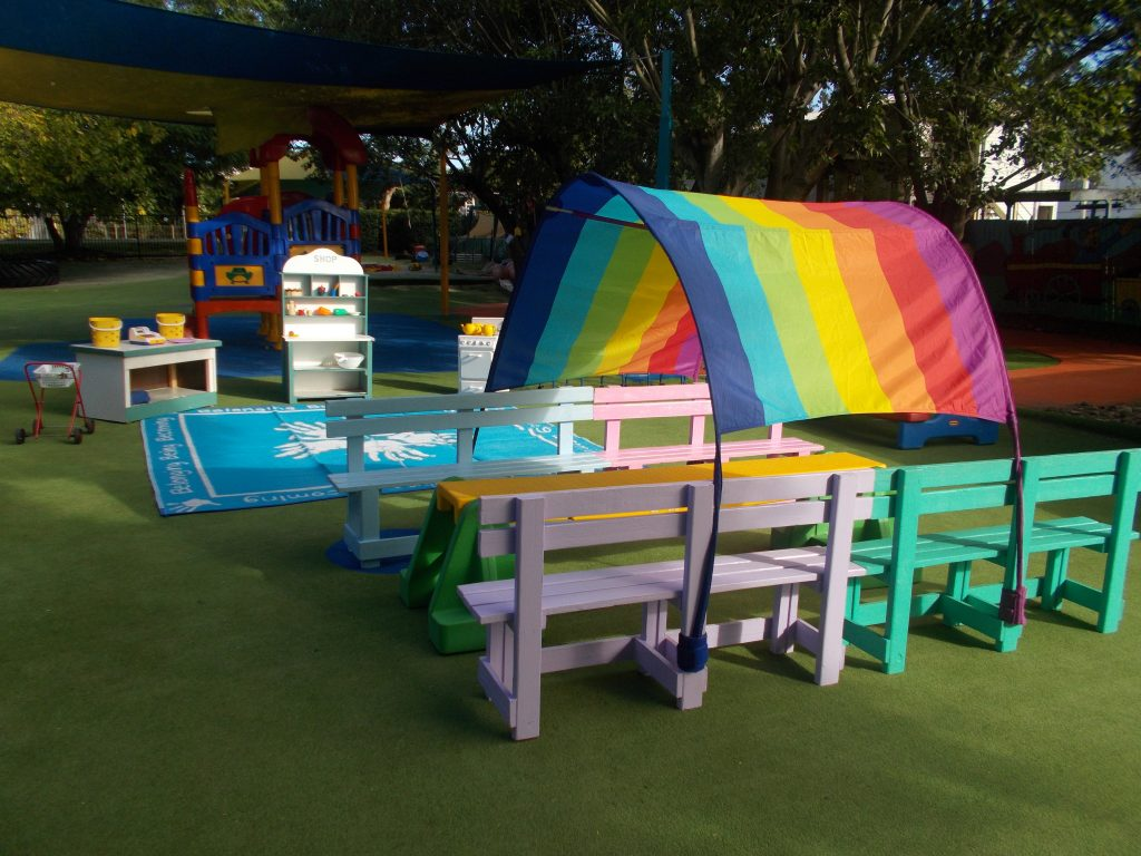 Raceview Playground Rainbow