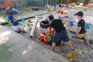 Play and Learn Child Care - Raceview - Early Learning Education - Playground Sandpit