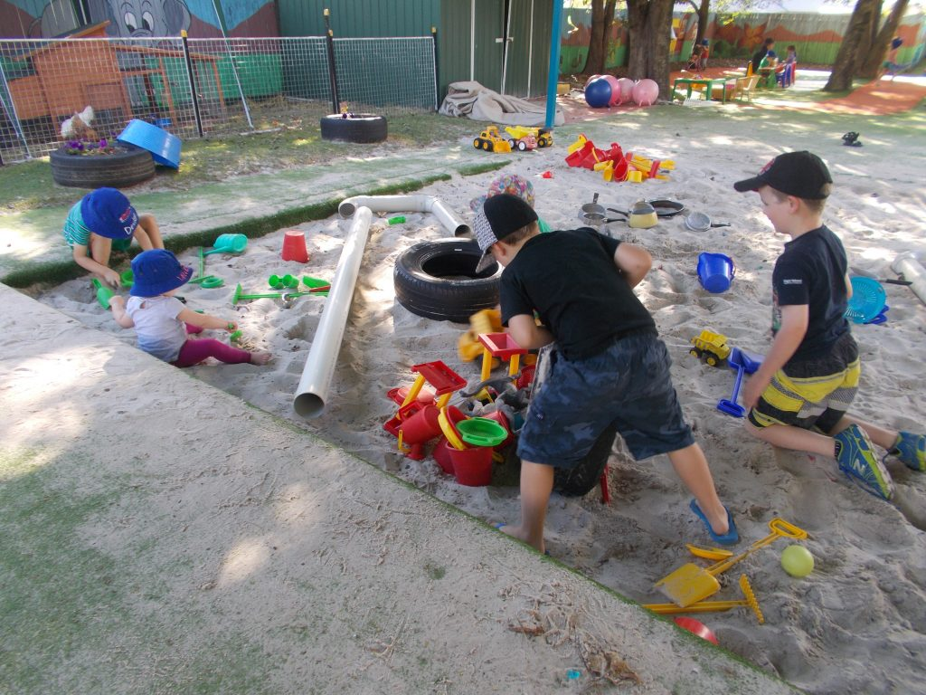 Raceview Playground Sandpit